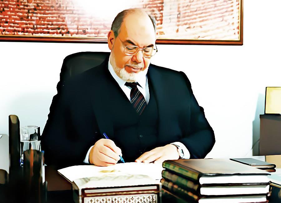 صورة د.طه جابر العلواني